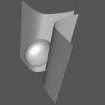Surface (x^2+y^2+2z^2-1)*(z^2x-0.1)=0